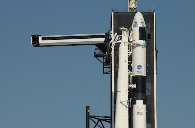 SpaceX crewed mission is a 'go' for launch next week