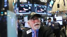US stocks end flat as 4Q growth disappoints