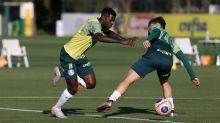 Reservas no Dérbi realizam treinamento técnico no Palmeiras
