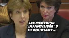 """Roselyne Bachelot tance des médecins """"infantilisés"""" et pourtant quand elle était ministre..."""