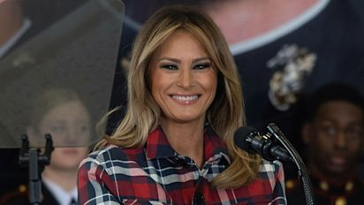 Melania Trump slams journalists, comedians