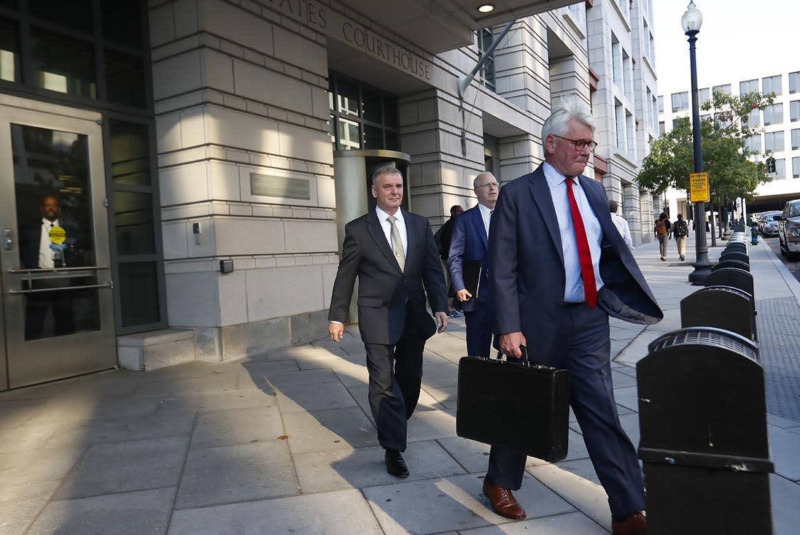 Greg Craig jury hears testimony on DOJ meeting key to his indictment