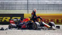 """F1: Verstappen cita falha do motor e chama corrida de """"show de m..."""""""