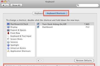 Mac 101: Use the tab key in more dialog boxes