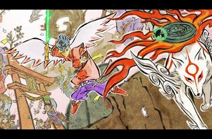 Okami Wii shines with new widescreen, progressive scan support