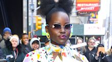 "Lupita Nyong'o Wore a ""'Fro Bow,"" and It Might Be Our Favorite Hairstyle From Her Yet"