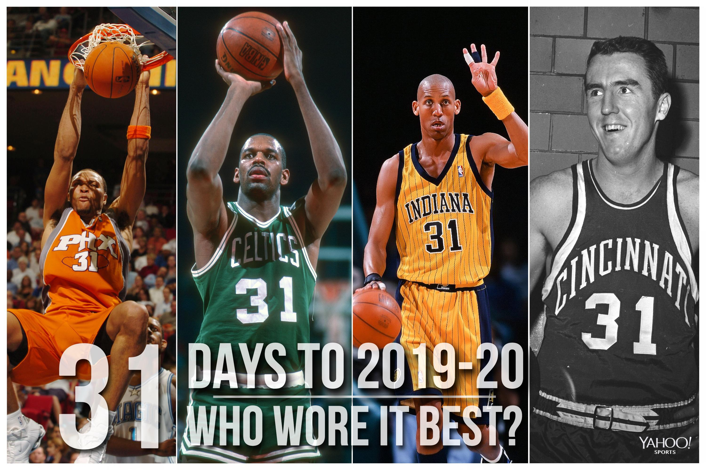 watch 5923d 7b355 NBA Countdown: Who wore No. 31 best?
