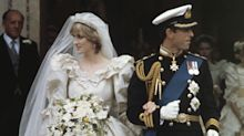 See Emma Corrin in Princess Diana's wedding dress in season four of The Crown