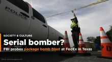 'Race against time' to find bomber as fifth device blows up in Texas