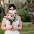 Yes, Bridal Face Masks Are Definitely a Thing