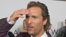 Matthew McConaughey Learned About Sam Shepard's Death on Red Carpet