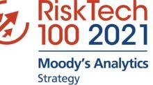 Moody's Analytics belegt Platz 2 im Gesamtranking des Chartis RiskTech100®