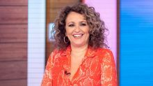 Nadia Sawalha says she would feel 'awkward' on 'Strictly' at her age