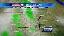 Isolated storms could pop up later today