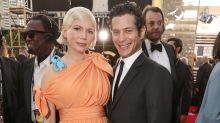 Pregnant Michelle Williams Keeps Baby Bump Under Wraps at Golden Globes with Fiancé Thomas Kail