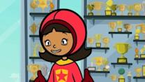 Wordgirl: There's No V In Team