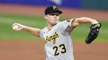 Pirates' Keller pulled 5 no-hit innings, Indians bunt in 7th