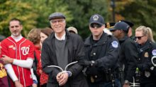 Ted Danson Almost Looks Thrilled To Get Busted With Jane Fonda At Climate Protest