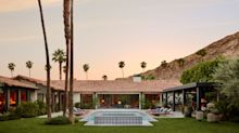 Lucas Interior Embraces Color to Modernize Palm Springs Spanish Revival Home