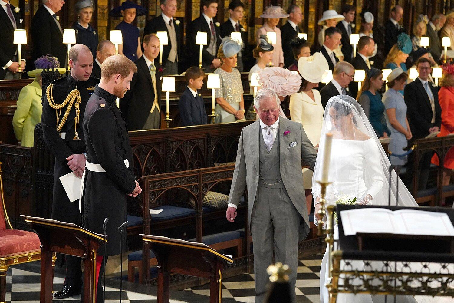prince charles recycled a suit from 1984 for prince harry and meghan markle s royal wedding https uk finance yahoo com news prince charles recycled suit 1984 185905214 html