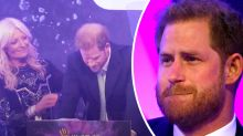 Prince Harry shocks crowd with teary breakdown during speech