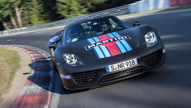 Porsche 918 Spyder Claims Le Of Fastest Production Car Around Nürburgring