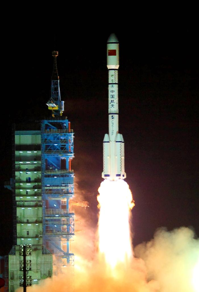 China launched Tiangong-1 in 2011 (AFP Photo/STR)