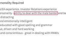 This job ad sums up how men got away with workplace sexism for centuries