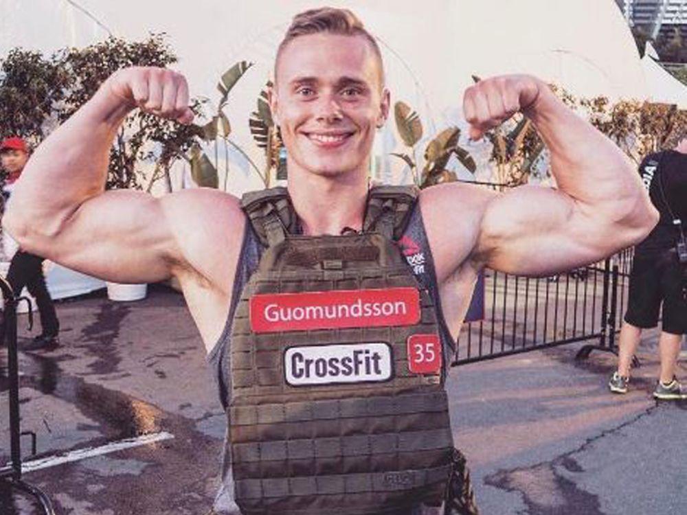 """Platz 5 der Männer: Björgvin Karl Guðmundsson behauptet laut dem Portal """"Xendurance"""" über sich selbst: """"Ich war schon immer wetteifernd. Alles, was ich tue, ist auf den Wettbewerb ausgerichtet."""" Ob dem wirklich so ist, kann der Isländer bei den CrossFit Games 2017 unter Beweis stellen. Fest steht jedenfalls: Dieser Bizeps kann sich allemal sehen lassen. (Bild-Copyright: bk_gudmundsson/Instagram)"""
