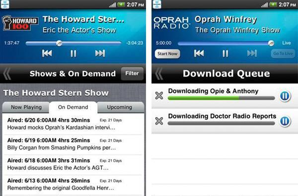 SiriusXM for Android update brings On Demand and offline listening