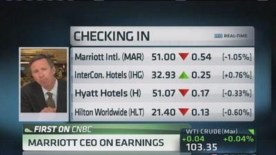 Marriott CEO: Need more proof of US economic growth