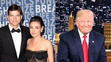 Mila Kunis had a 'blowup' with Ashton Kutcher's relative over Trump