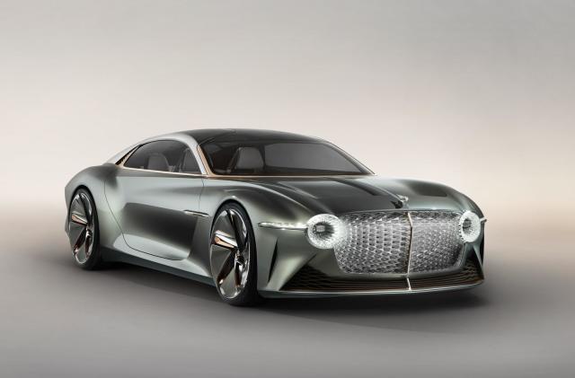 Bentley's centennial concept car comes with an AI butler