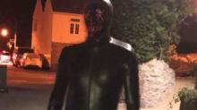 Man wearing gimp suit 'terrorises locals in Somerset village'