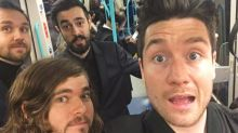 Brit Awards 2017: Bastille and Blossoms prove they're just like us as they get tube to ceremony