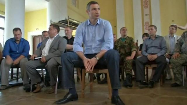 Klitschko says it's time protesters leave Maidan