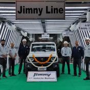 終於增加產能,Maruti Suzuki於印度投產Jimny,將可望加速消化訂單!