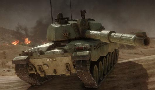 Obsidian behind new Armored Warfare MMO