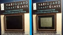 VARIGUARD SHOWCASES SPD-SMARTGLASS PICTURE FRAMING PRODUCTS AT WCAF AND LAUNCHES ADVERTISING CAMPAIGN