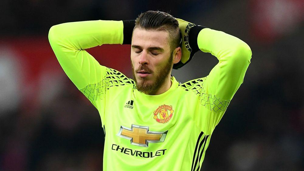 Manchester United, De Gea sanctionné par Mourinho ?