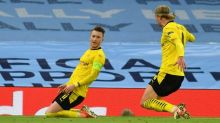 Dortmund skipper Reus revels alongside 'unique' Haaland