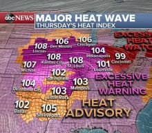 Dangerous and widespread heat wave throughout US