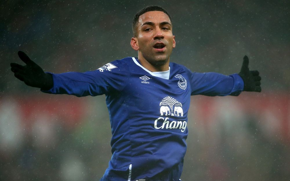 Aaron Lennon joined Everton from Spurs, but has not played since February  - Getty Images Sport
