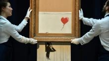 Banksy admite que pretendia total autodestruição de obra leiloada