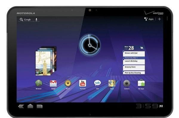 Motorola Xoom to boast barometer, budding meteorologists have found their next tablet
