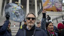 Joaquin Phoenix Arrested at Jane Fonda's Final Washington DC Climate Change Protest