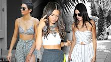 Kendall Jenner Really, Really Loves Crop Tops, Like More Than Taylor Swift