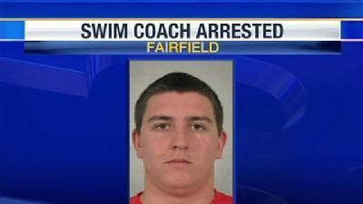 High School Swim Coach Arrested