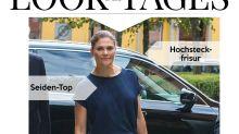 Look des Tages: Prinzessin Victoria von Schweden in Maxi-Plisseerock