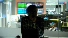 Luz apaga durante Redação SporTV e Barreto brinca: 'Não estava previsto'